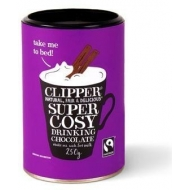 Olcsó Clipper fairtrade super cosy drinking chocolate 250g