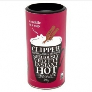 Olcsó Clipper fairtrade hot drinking chocolate 350g