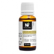 Olcsó Nature&Vitality K2+D3 Vitamin 20 ml